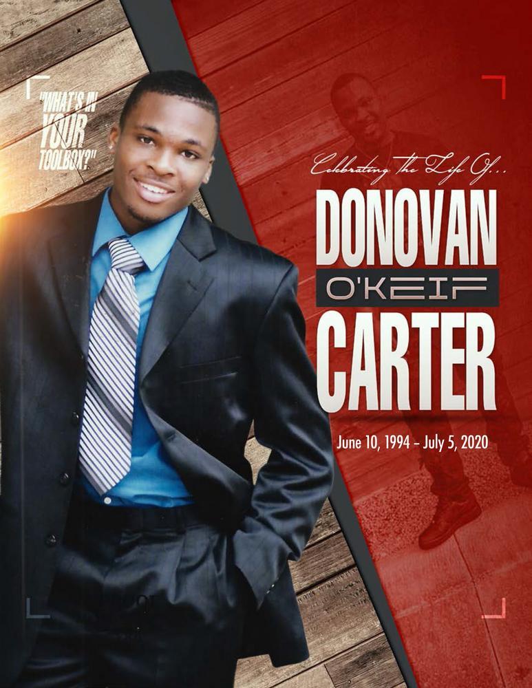 Donovan O'keif Carter 1994 – 2020