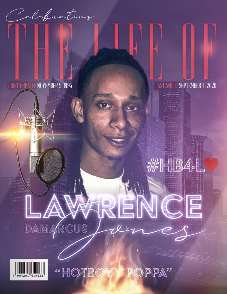 Lawrence DaMarcus Jones 1995 – 2020