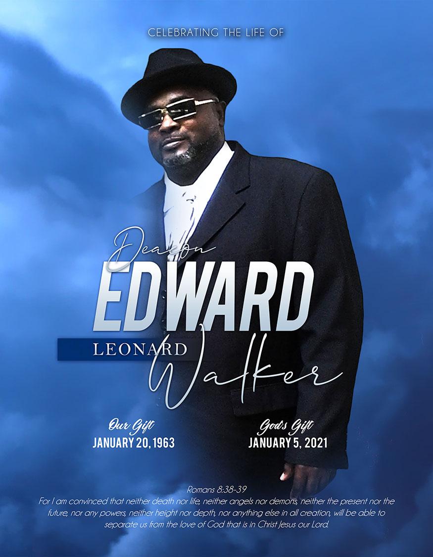 Edward Leonard Walker 1963-2021