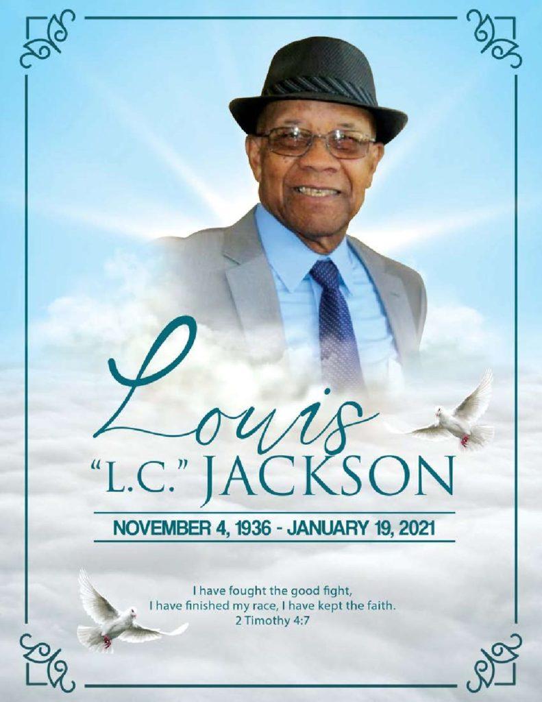 Louis C. Jackson, Sr. 1936-2021