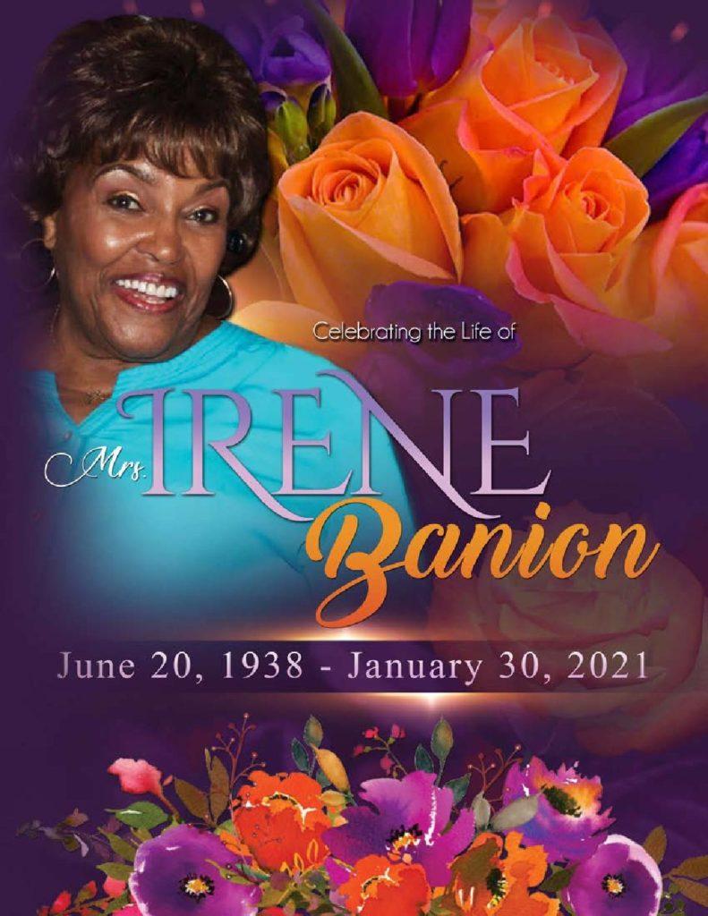 Irene Banion 1938-2021