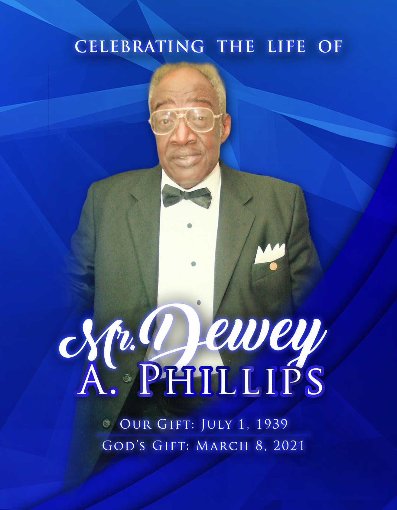 Dewey A. Philips 1939-2021