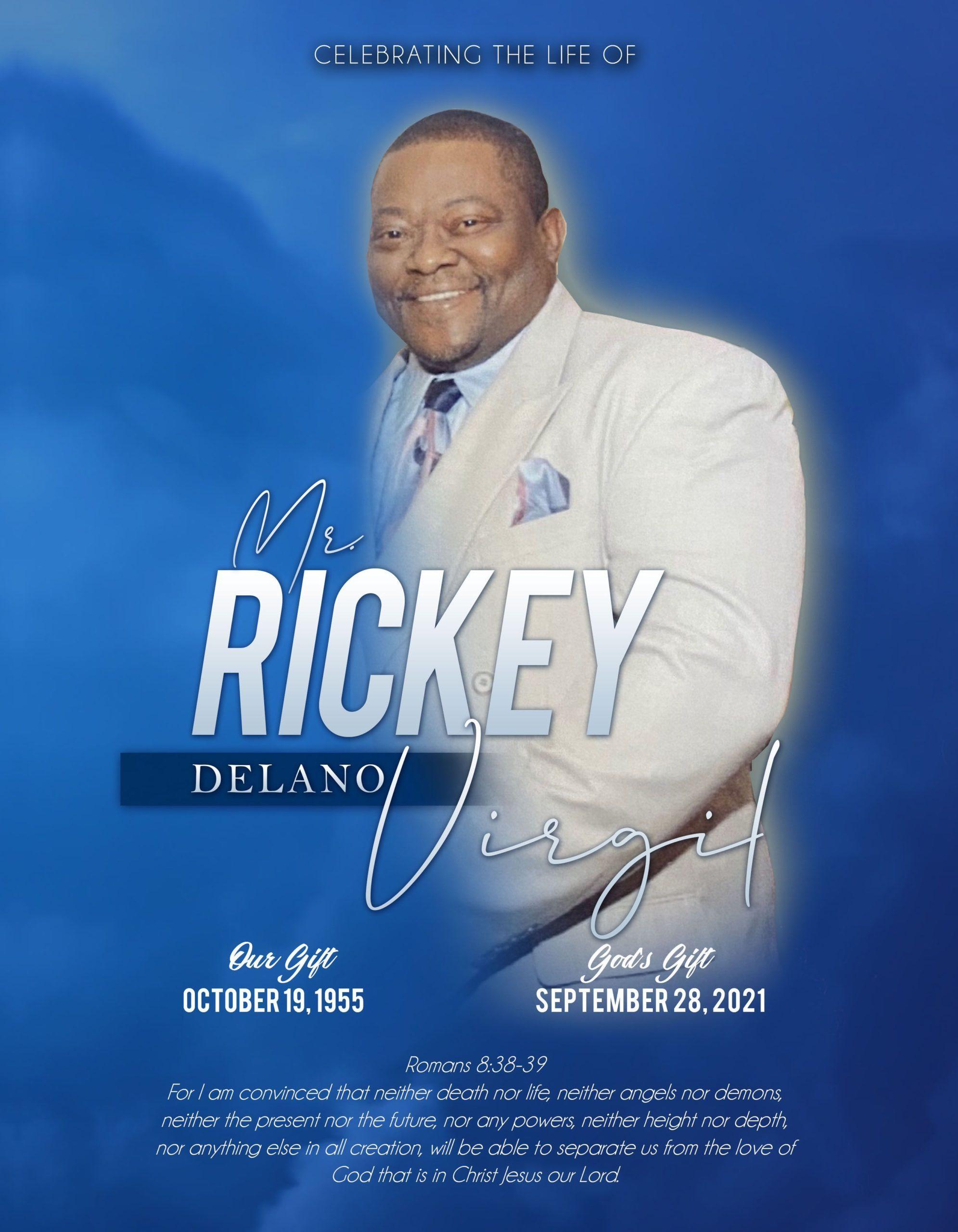 Rickey Delano Virgil 1955-2021